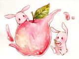 りんごのジュース!