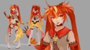 【Fate/MMD】シータ【モデル配布】