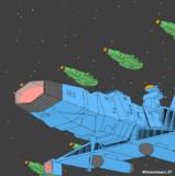 新型デスラー艦&デスラー砲艦