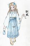 朝風さんとお絵描き練習3