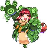 カエルキョンシーちゃん