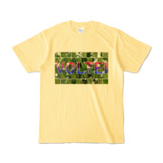 Tシャツ ライトイエロー VOLTEI_Grass