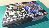 ウイングガンダム / 16色ドット絵ガンプラ箱絵風3D
