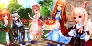 【今日のレア様】常春の世界で クリスマスパーティ…♡