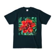 Tシャツ ネイビー Invective_HANA