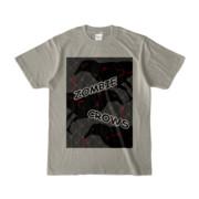 Tシャツ | シルバーグレー | ゾンビカラスちゃん
