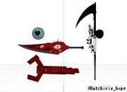 【LobotomyCorporation】Aleph武器4種【モデル配布】