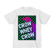 Tシャツ | アッシュ | CROW_WHEY_CROW