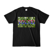 Tシャツ | ブラック | VOLTEI_Grass