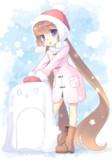 冬装備アイちゃん