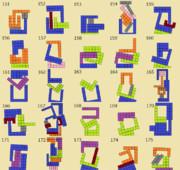 ニコニコタワー ブロックの組み合わせ例(151~175)