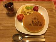 【実物】ホットケーキアート(食品)
