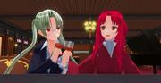 姫:「だから私は未成年だからw」          先生:「折角の日よ。一杯位いいじゃない♪」