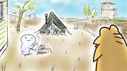 ひとりで庭キャンプ