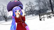 雪だ~є(ฅ˃∇˂ฅ)э