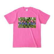 Tシャツ ピンク VOLTEI_Grass