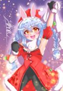 兎田ぺこら クリスマスver