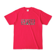 Tシャツ ホットピンク SPUR_Gravel