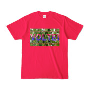 Tシャツ | ホットピンク | VOLTEI_Grass