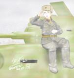冬のBA-6装甲車