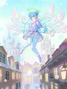 初雪と天使