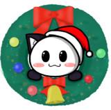 ポジティブ猫ヤミーくん  「クリスマスアイコン」