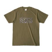 Tシャツ オリーブ SPUR_Gravel