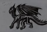 ドラゴンを描いてみた(自作っぽい奴)