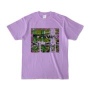 Tシャツ ライトパープル Grass_Tower