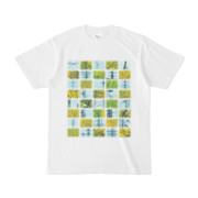 Tシャツ ホワイト Steel20_and_Grass20
