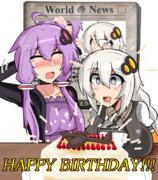 ゆかあか誕生日