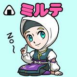 ミルテ(ビックリマン風)