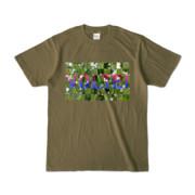 Tシャツ | オリーブ | VOLTEI_Grass