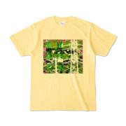 Tシャツ ライトイエロー Grass_Tower