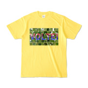 Tシャツ イエロー VOLTEI_Grass