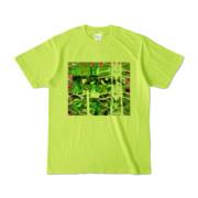 Tシャツ ライトグリーン Grass_Tower