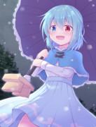 小傘ちゃんと雪