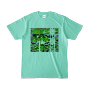 Tシャツ アイスグリーン Grass_Tower