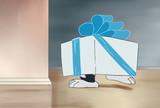 プレゼントは私♡作戦をする多摩