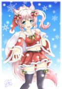 クリスマスほわんちゃん