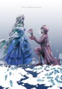 捧げる赤とヒミツのピンク/季節外れのラナンキュラス