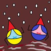 クリスマスパンツサンタボール2020