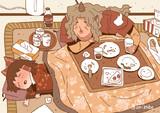 【あうん男体化】チビ霊夢とあうんおじさんのクリスマスパーティー