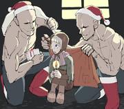 クリスマスのハゲ