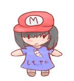 デフォルメマリオ帽子