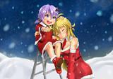 ゆかりちゃんとマキさんのクリスマス