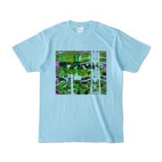 Tシャツ ライトブルー Grass_Tower
