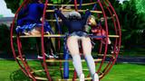 美少女たちの公園遊び