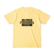 Tシャツ ライトイエロー Data_FREESIA