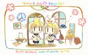 【鏡音リン】リンちゃんとふしぎなまねっこミラー【オリジナルMV】